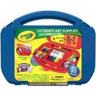 Crayola Ultimate Art Supplies & Easel -