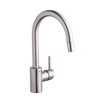 Grohe Single Lever Stainless Steel Faucet