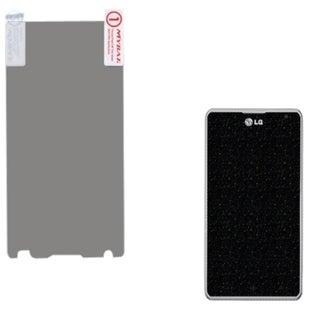 INSTEN LCD Glitter Screen Protector for LG MS870 Spirit 4G