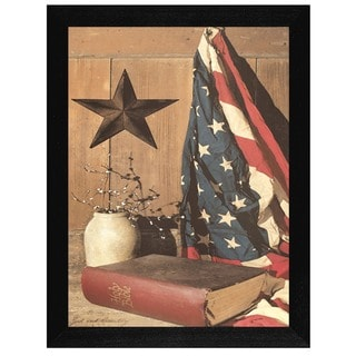 Billy Jacobs 'God and Country' Framed Wall Art