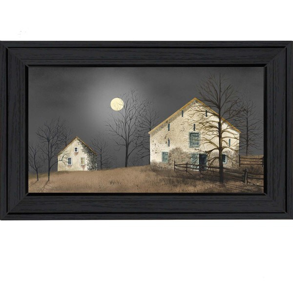 Billy jacobs 39 still of the night 39 30 x 16 inch framed wall for Wall artwork paintings
