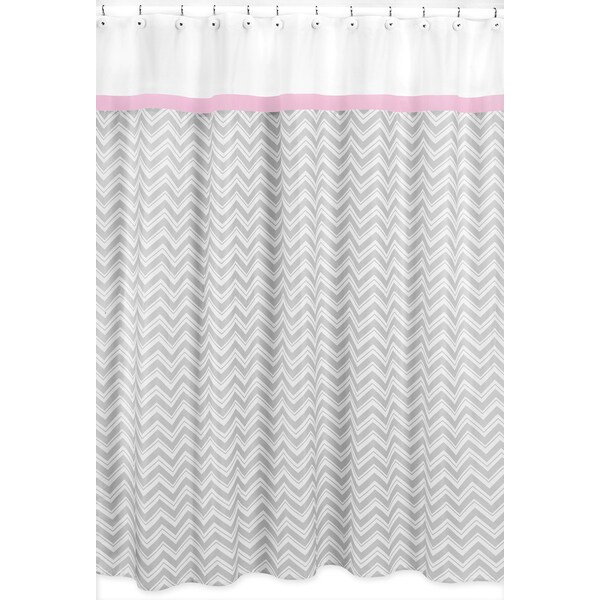 geometric patterned amazon eforgift shower com curtains bocc fabric x curtain floral bathroom dp waterproof grey ac