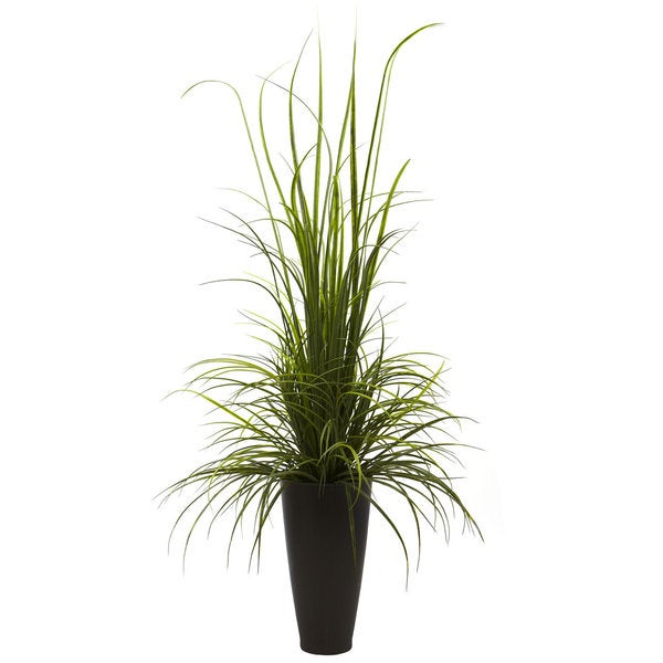 River Grass And Planter 64 Inch Indoor Outdoor Decor