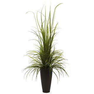 River Grass and Planter 64-inch Indoor/Outdoor Decor