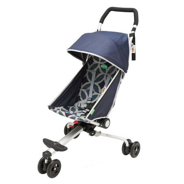 QuickSmart Backpack Stroller in Geometric Midnight