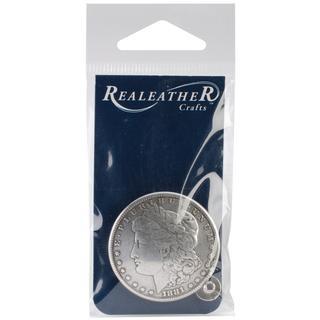 Concho 1.375 Antique Silver 1/Pkg - Morgan Dollar Heads