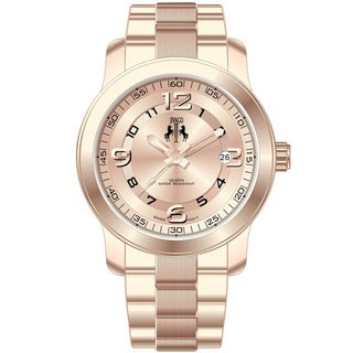 Jivago Women's Infinity Rose Goldtone Stainless Steel Watch