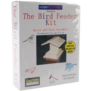 Unfinished Wood Kit - Bird Feeeder