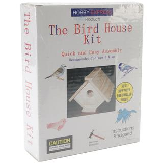 Unfinished Wood Kit - Bird House