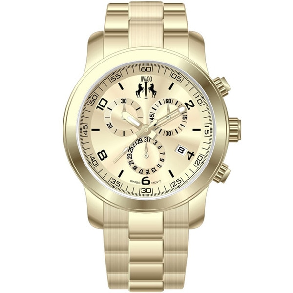 Jivago Women's 'Infinity' Goldtone Watch
