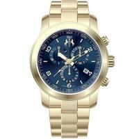 Jivago Women's 'Infinity' Blue Dial Chronograph Watch