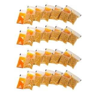 Nostalgia KPP24 24-count 4 oz. Pre-measured Premium Quality Popcorn, Oil, and Seasonings Packs