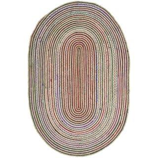 Safavieh Cape Cod Handmade Natural Jute Natural Fiber Rug (8' x 10')