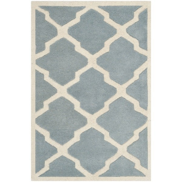 Safavieh Contemporary Handmade Moroccan Chatham Blue