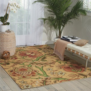 Waverly Global Awakening Imperial Dress Antique Area Rug by Nourison (5' x 7')