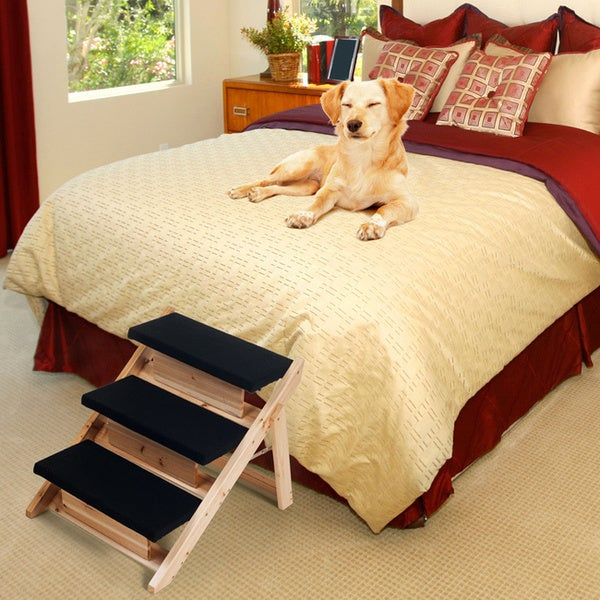 PAW Folding 2-in-1 Pet Ramp/ Stairs