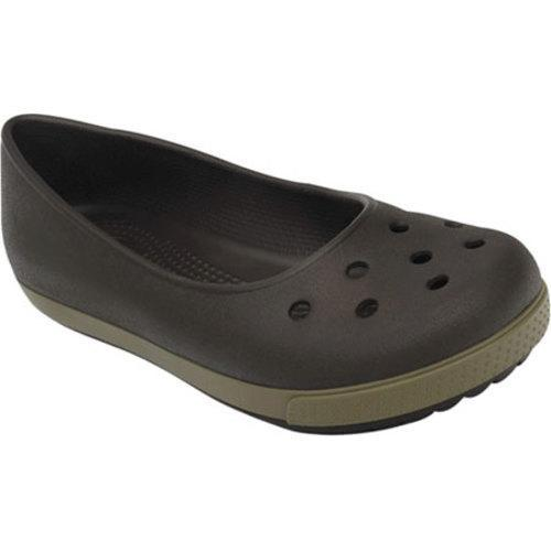 1eeafc7179d45e Shop Women s Crocs Crocband Airy Flat Espresso Walnut - Free Shipping On  Orders Over  45 - Overstock - 8349263