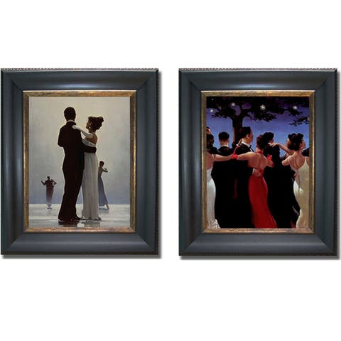 Vettriano Dancers Framed Canvas Art Collection
