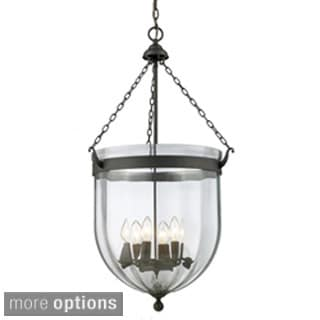 Warwick Multi-Light Sculpted Glass Fixture