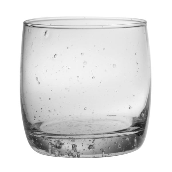 Double Old Fashioned Bubble Glass (Set of 4)