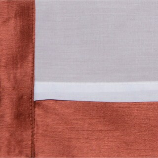 Heritage Landing 96-inch Faux Silk Lined Curtain Panel Pair