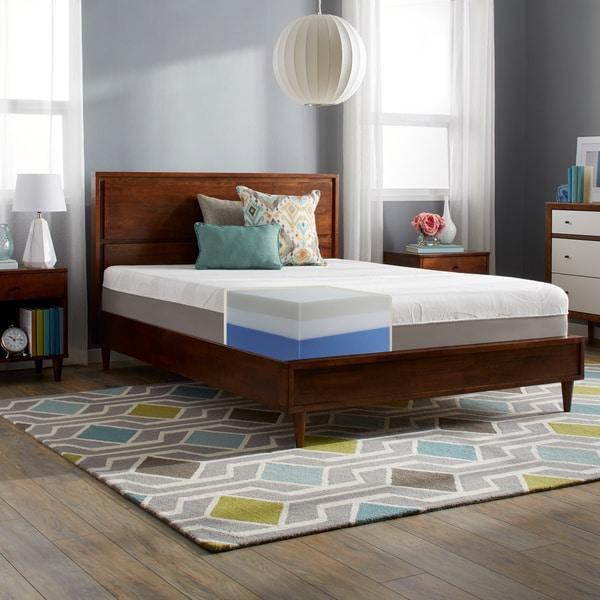 slumber solutions choose your comfort 12inch queen memory foam mattress click to zoom