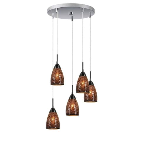 Woodbridge Lighting 13223STN-M20 Venezia Mini-pendant
