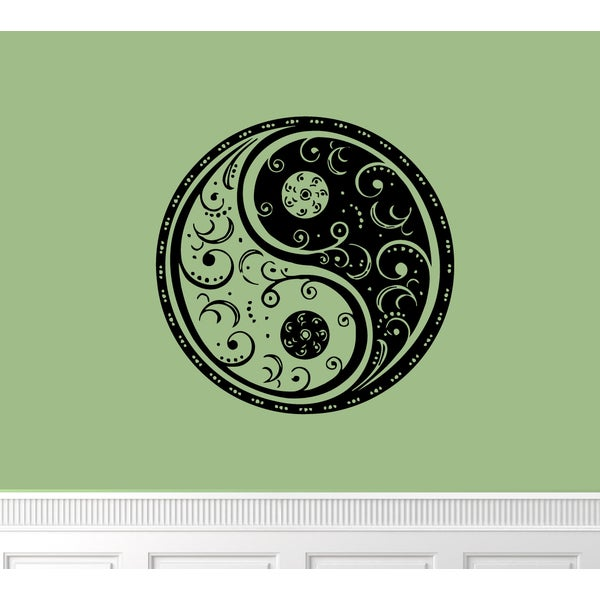 Yin Yang Vinyl Wall Art Free Shipping On Orders Over