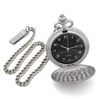 Men's Personalized Silverplated Pocket Watch|https://ak1.ostkcdn.com/images/products/8352377/P15661356.jpg?impolicy=medium