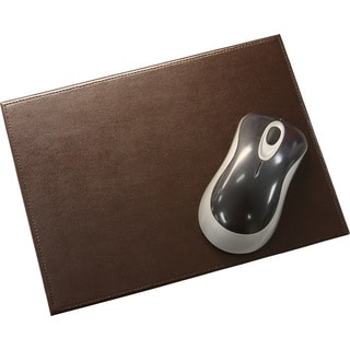Brown Bonded Leather Mouse Pad