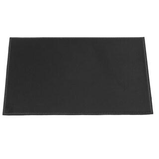 """Black Square Corner Placemat (17""""x12"""")"""