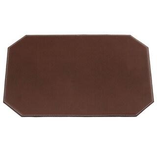 "Brown Cut Corner Placemat (17""x12"")"