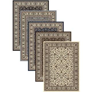 Admire Home Living Artisan Sarouk Area Rug (5'5 x 7'7) - 5'5 x 7'7