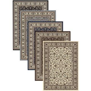 Admire Home Living Artisan Sarouk Area Rug (7'9 x 11') - 7'9 x 11'