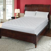 Reversible Pillow Top 12-inch Cal King-size Memory Foam Mattress - White