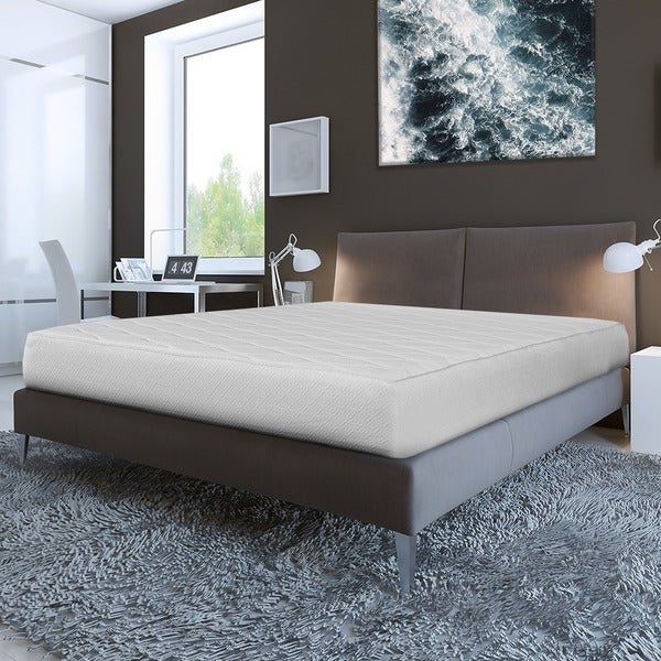 Quilted Top 10-inch Queen-size Memory Foam Mattress with Removable Cover