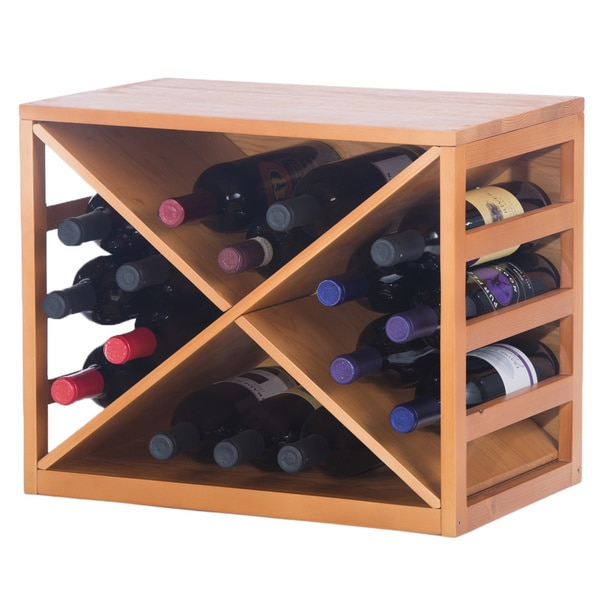 Lancaster Wine Bottle Rack - Free Shipping Today - Overstock.com ...