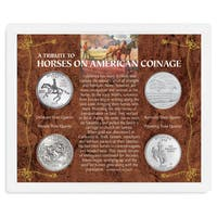 American Coin Treasures A Tribute to Horses on American Coinage Coin Set