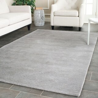Safavieh Hand-loomed Himalaya Grey Wool Rug (4' x 6')