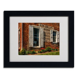 Lois Bryan 'Country Store' Framed Matted Art