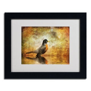 Lois Bryan 'The Robin' Framed Matted Art