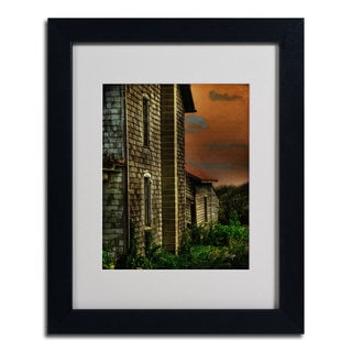 Lois Bryan 'Old Farmhouse' Framed Matted Art