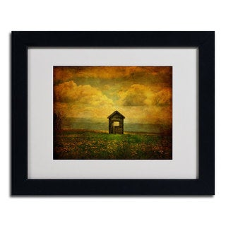 Lois Bryan 'Field of Dandelions' Framed Matted Art