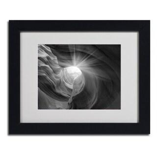 Moises Levy 'Searching Light I' Framed Matted Art