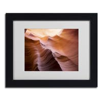 Moises Levy 'Smooth II' Framed Matted Art