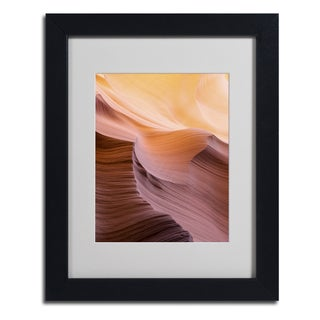 Moises Levy 'Smooth III' Framed Matted Art