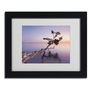 Moises Levy 'Water Tree XV' Framed Matted Art