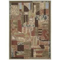 Nourison Modesto Beige Rug (3'11x5'3) - 3'11 x 5'3
