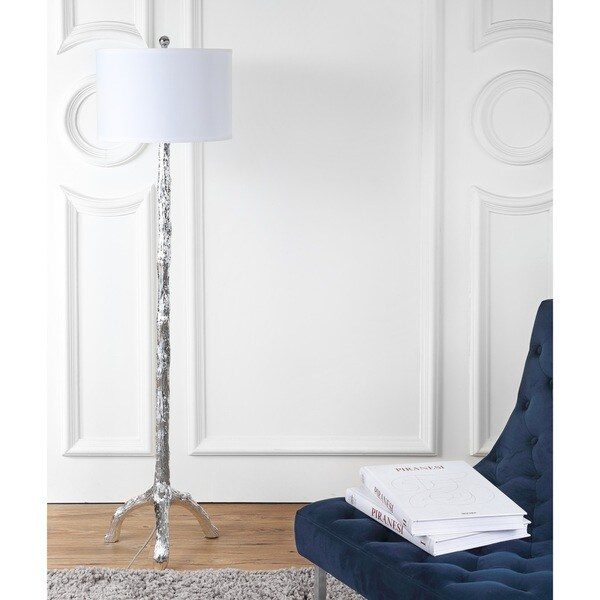 Safavieh Lighting 57-inch Silver Branch Floor Lamp