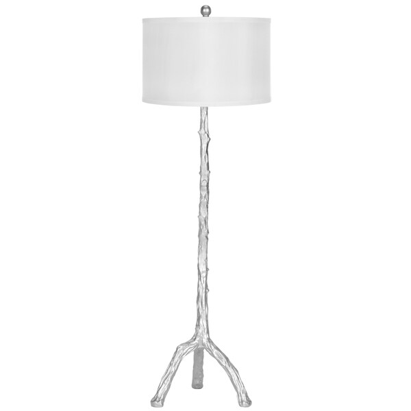 Safavieh Lighting 57-inch Silver Branch Floor Lamp - Free Shipping ...
